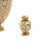 Essence Opal Cloisonne Brass Keepsake Cremation Urn