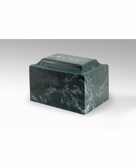 Evergreen Classic Cultured Marble Cremation Urn Vault - Engravable