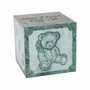Excelsus Teddy Bear Infant Green Marble Engravable Cremation Urn