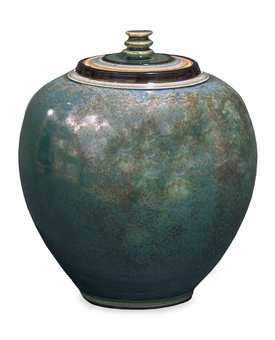 Fairlawn Hand Thrown Porcelain Cremation Urn