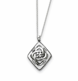 Family Blessings Sterling Silver Memorial Jewelry Pendant