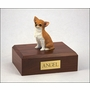 Fawn Chihuahua Dog Figurine Pet Cremation Urn - 1823