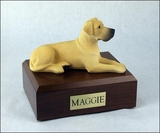 Fawn Great Dane Dog Figurine Pet Cremation Urn - 1238