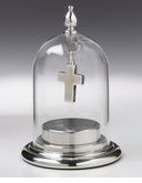 Fillable Base Jewelry Domes Holds Ashes and Cremation Jewelry