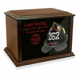 FireFighter Helmet Eternal Reflections Cremation Urn