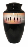 First Dawn Fishing Hand Painted Cremation Urn