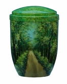 Forest Avenue Hand Painted Cremation Urn