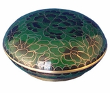 Forest Cloisonne Jewel Dish