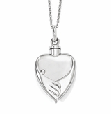 Forever My Baby Sterling Silver Cremation Jewelry Necklace