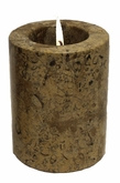 Fossil Stone Small Tea Light Cremation Urn
