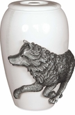 Free Spirit Wolf keepsake Cremation Urn