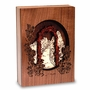 Garden Walk Dimensional Wood  Keepsake Cremation Urn - Engravable