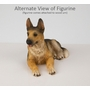 German Shepherd Dog Figurine Pet Cremation Urn - 099