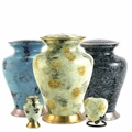 Glenwood Brass Cremation Urn Series