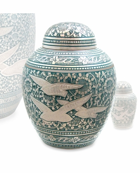 Going Home Brass Extra Small Cremation Urn