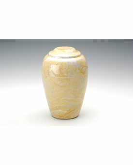 Gold Small Grecian Cremation Urn - Engravable