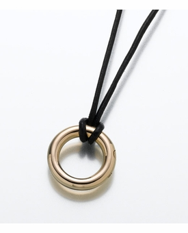 Gold Vermeil Eternity Necklace Cremation Jewelry