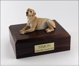 Golden Labrador Dog Figurine Pet Cremation Urn - 154