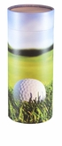 Golf Lovers 19th Hole Eco Friendly Cremation Scattering Tube - 6 sizes