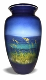 Gulf Waters Picture Cremation Urn