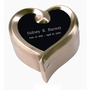 Heart Keepsake Set - Pewter - Engravable