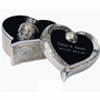 Heart Keepsake Set - Silver & Gold - Engravable
