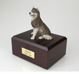 Husky Dog Figurine Pet Cremation Urn - 120