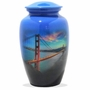 I Left My Heart Picture Cremation Urn
