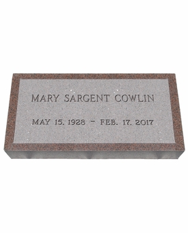 Imperial Pink Granite Cemetery Grave Marker