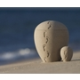 Impressa Footprints in the Sand Handcrafted Sand Cremation Urn