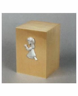 Innocence II Infant Kneeling Girl Cremation Urn