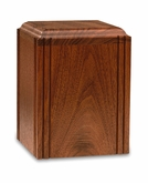Innocence - Wood Infant Cremation Urn - Engravable