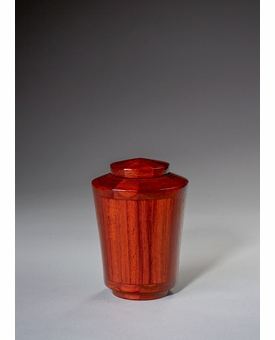 Keepsake Joy Padauk Wood Cremation Urn