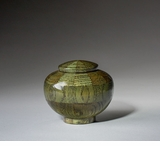 Keepsake Peony Green Wood Cremation Urn