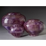 Keepsake Peony Purple Wood Cremation Urn