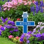 Personalized Kitten With Yarn Lawn and Garden Memorial Marker - 10 Colors