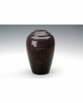 Kodiak Brown Grecian Cremation Urn - Engravable