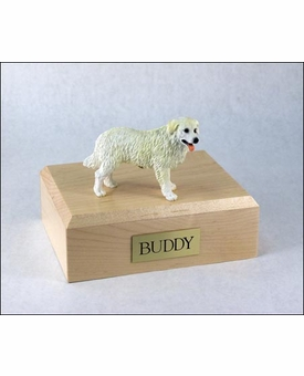 Kuvasz Dog Figurine Pet Cremation Urn - 755