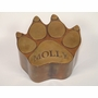 Large Dog Paw Custom Handcrafted Copper Pet Cremation Urn