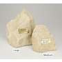 Large Limestone Rock Pet Cremation Urn