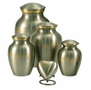 Extra Small Paw Prints Classic Pewter Pet Cremation Urn - Engravable