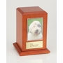 Large Photo Tower Cherry Wood Pet Cremation Urn