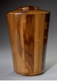 Large Praise Black Walnut Wood Cremation Urn
