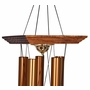 Large Reflections Bronze Finish Memorial Wind Chime Cremation Urn with Engraving