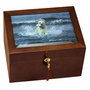 Large Windsor Cherry Photo Box Cremation Urn