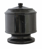 Lasting Tribute Ebony Marble Pet Cremation Urn