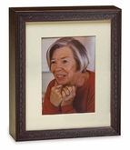 Legacy Cherry Wood Photo Frame and Cremation Urn Combination