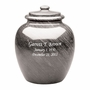 Legacy Gray Marble Engravable Cremation Urn