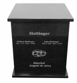 Legend Granite Dual Cremation Urn