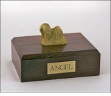 Lhasa Apso Dog Figurine Pet Cremation Urn - 1875